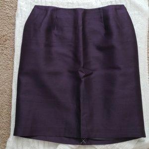Gorgeous wool silk blend skirt